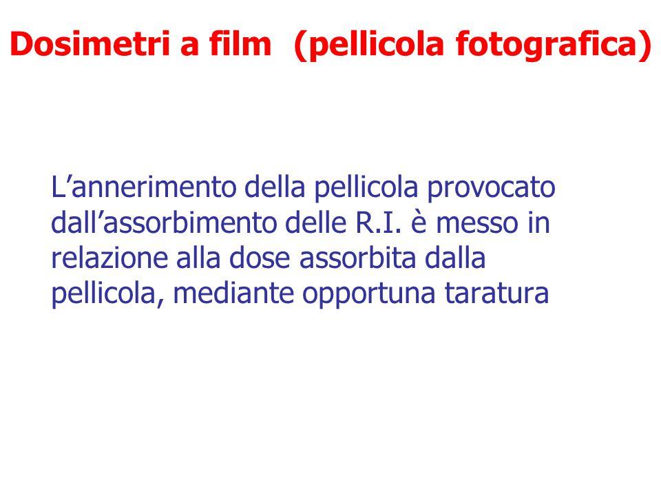 Dosimetri a film (pellicola fotografica)