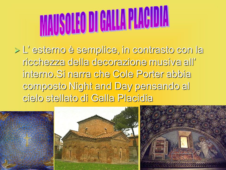MAUSOLEO DI GALLA PLACIDIA