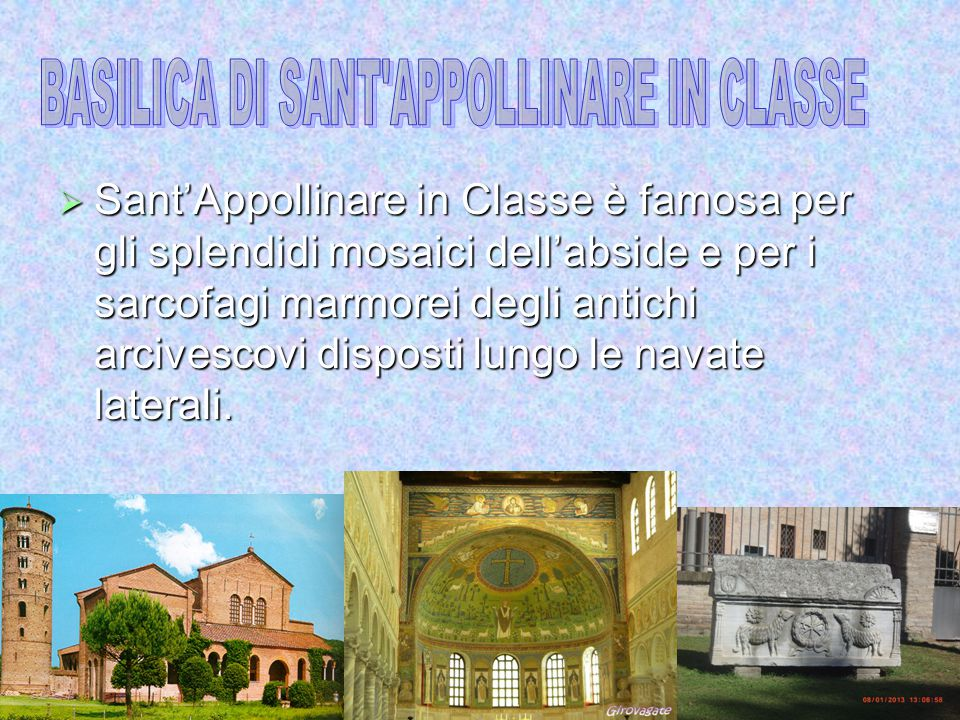 BASILICA DI SANT APPOLLINARE IN CLASSE