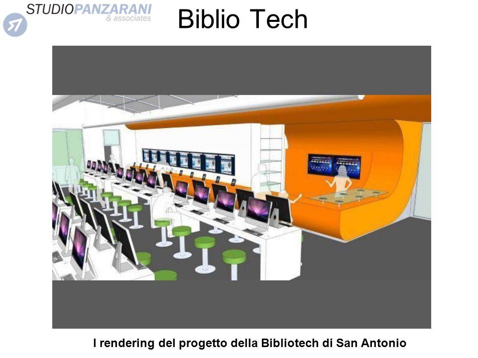 I rendering del progetto della Bibliotech di San Antonio