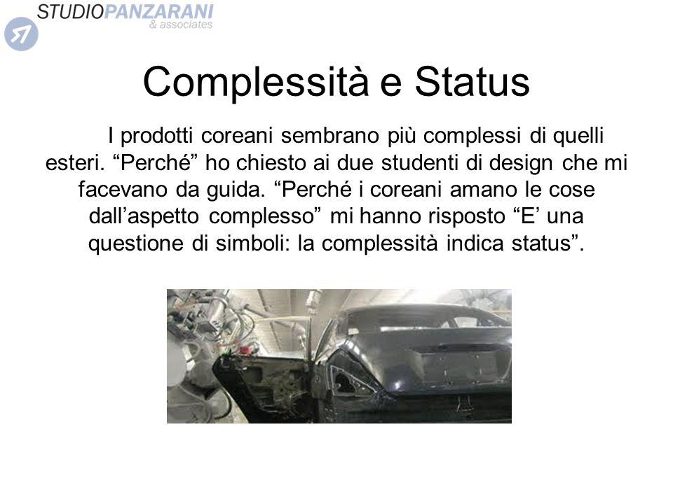 Complessità e Status