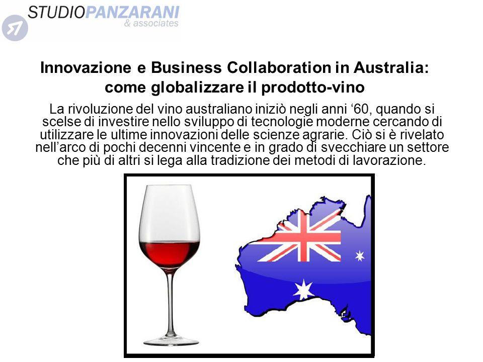 Innovazione e Business Collaboration in Australia: come globalizzare il prodotto-vino