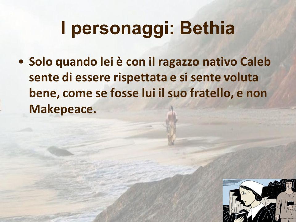 I personaggi: Bethia