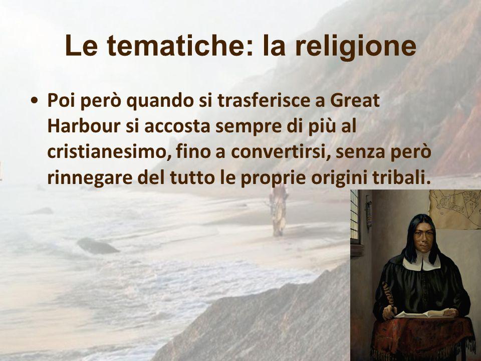 Le tematiche: la religione