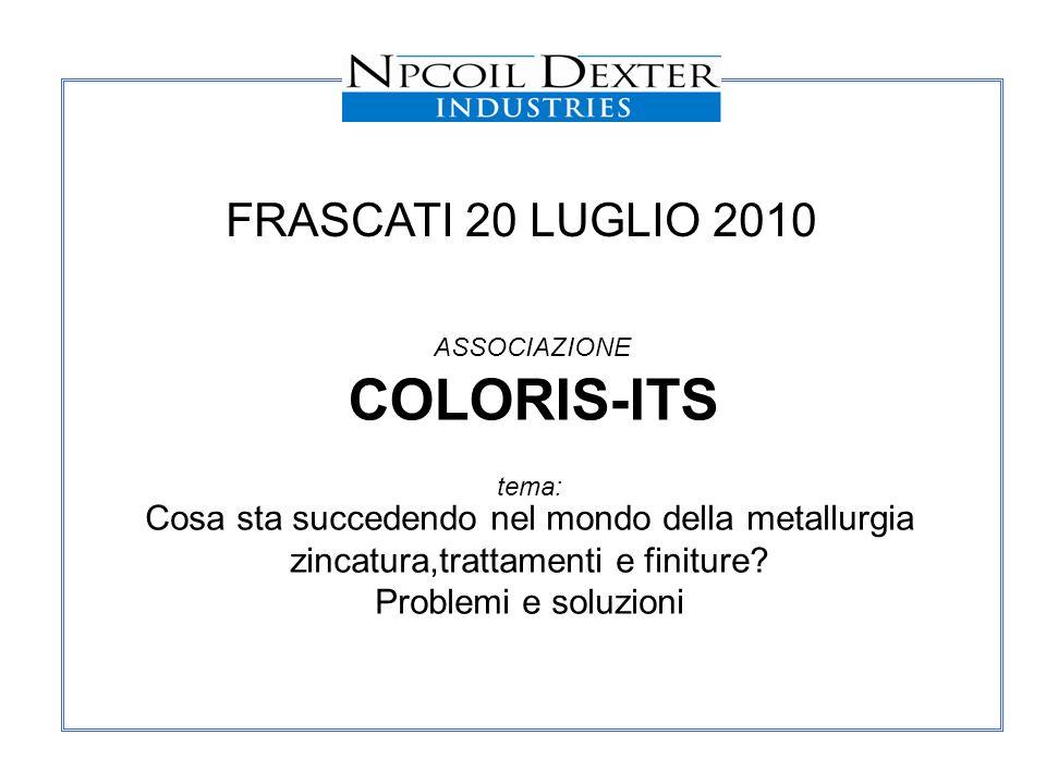 COLORIS-ITS FRASCATI 20 LUGLIO 2010