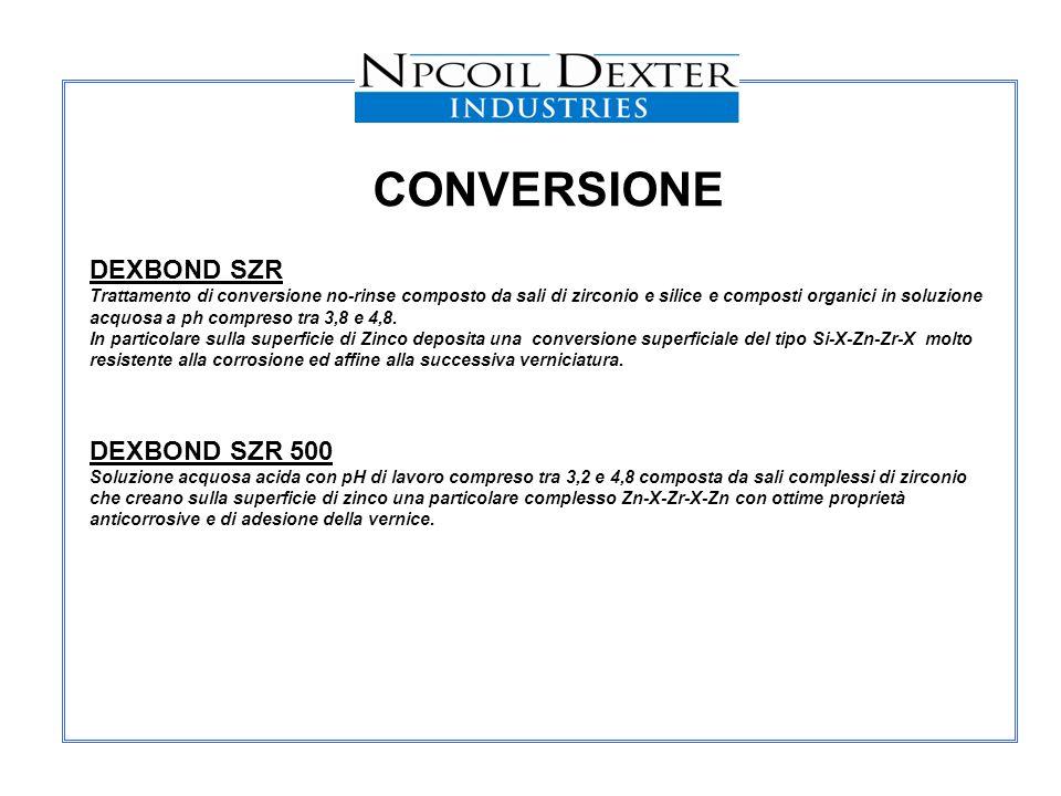 CONVERSIONE DEXBOND SZR DEXBOND SZR 500