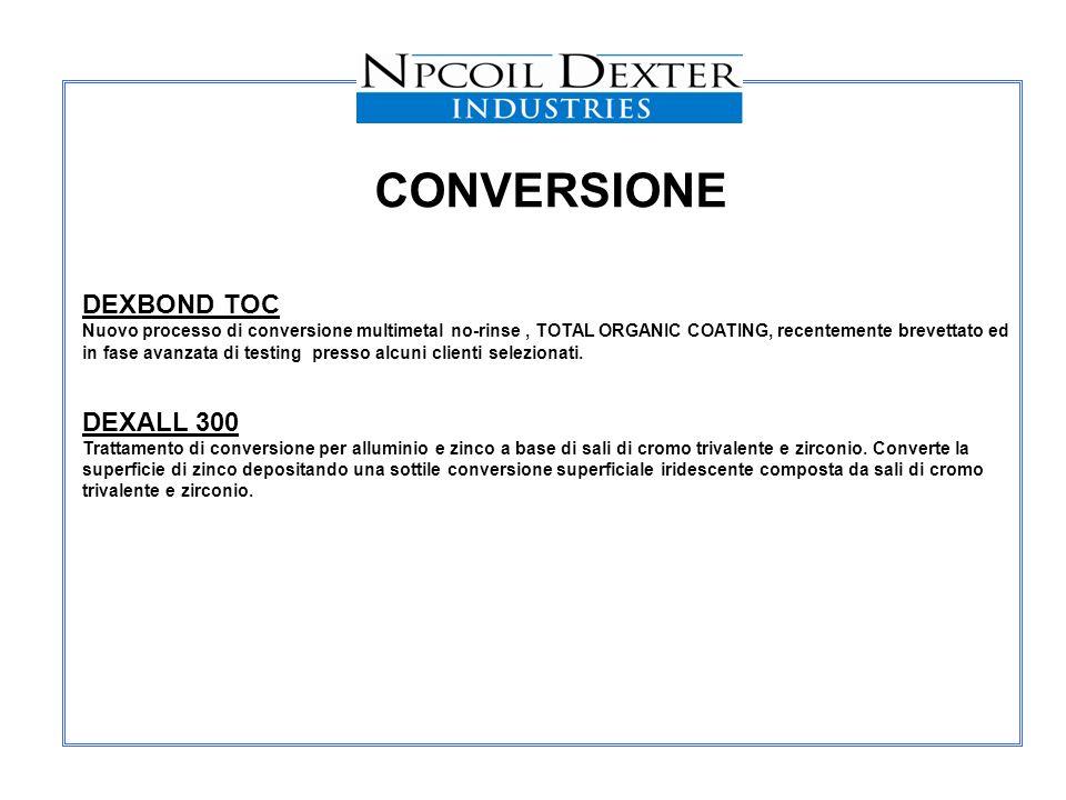 CONVERSIONE DEXBOND TOC DEXALL 300