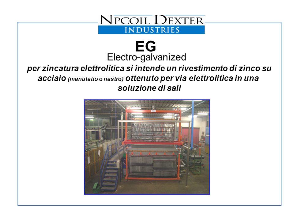 EG Electro-galvanized