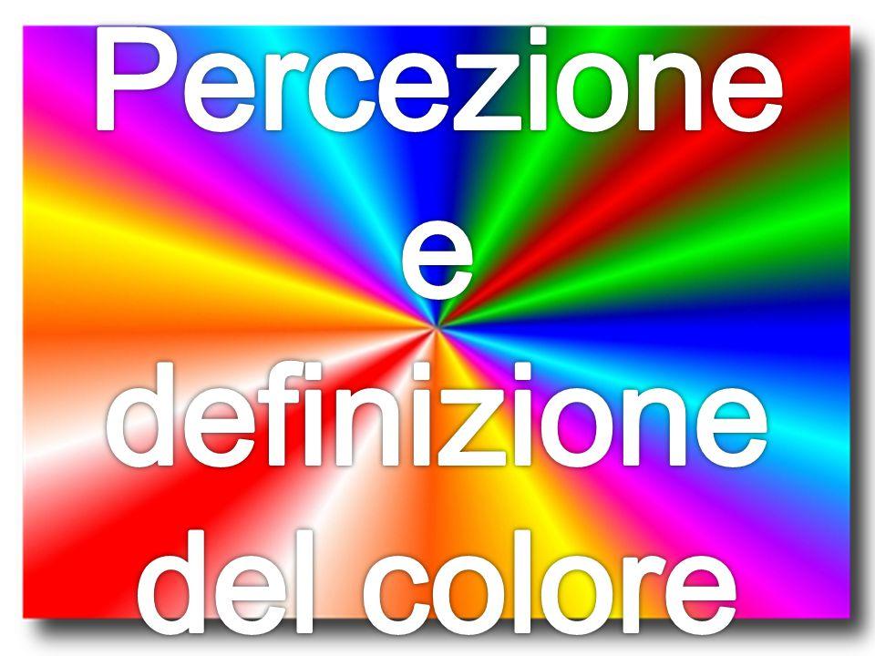 Percezione e definizione del colore