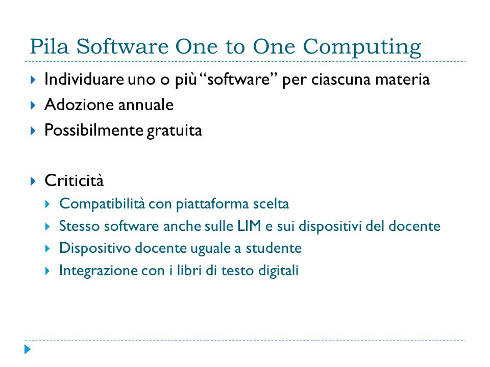 Pila Software One to One Computing