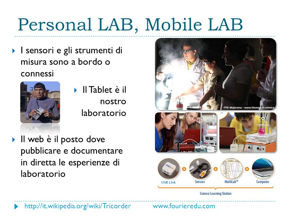Personal LAB, Mobile LAB