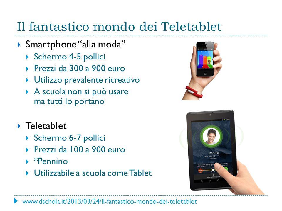 Il fantastico mondo dei Teletablet