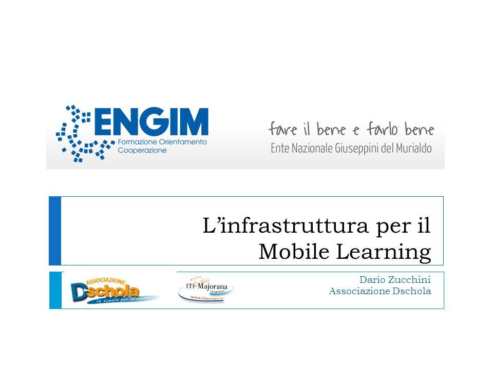 L'infrastruttura per il Mobile Learning