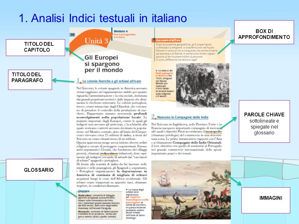 1. Analisi Indici testuali in italiano