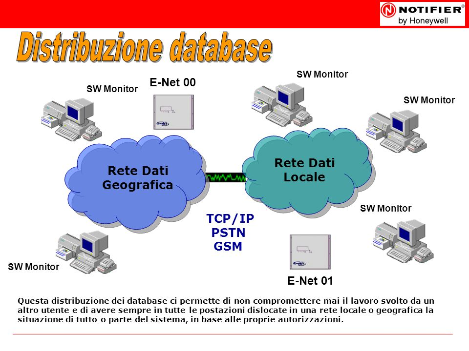 Distribuzione database