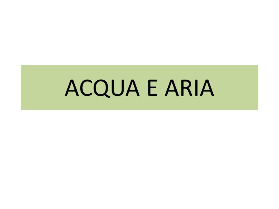 ACQUA E ARIA