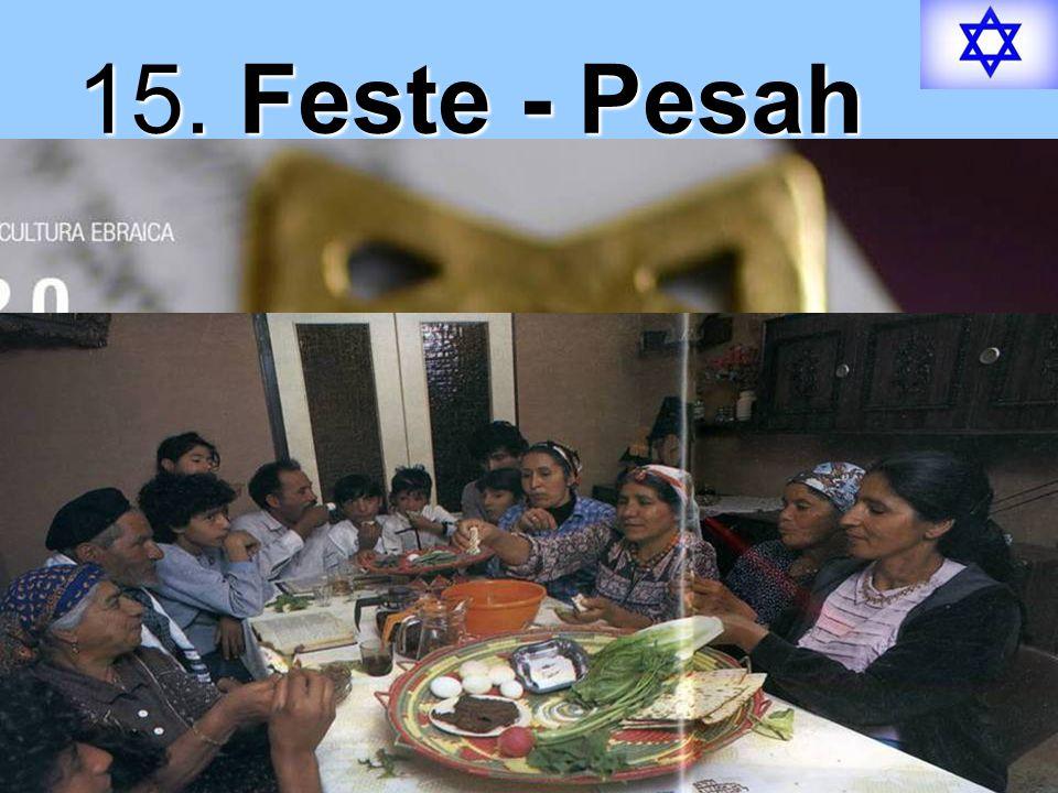 15. Feste - Pesah