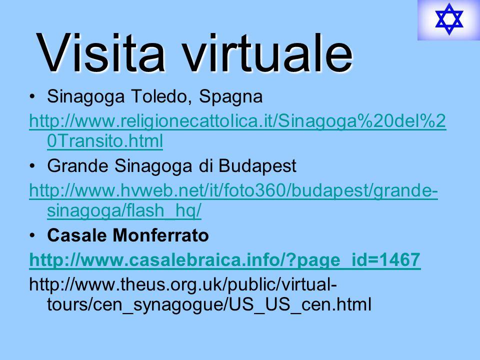 Visita virtuale Sinagoga Toledo, Spagna