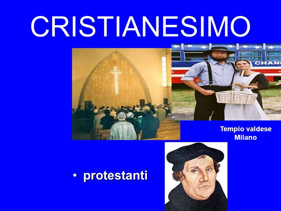 CRISTIANESIMO Tempio valdese Milano protestanti