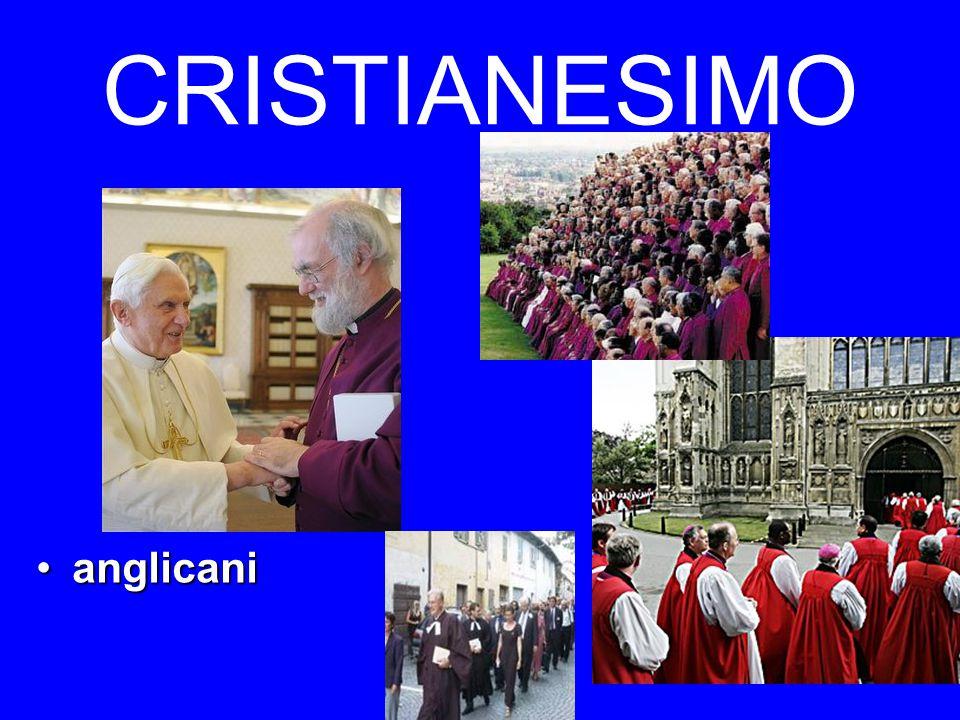 CRISTIANESIMO anglicani