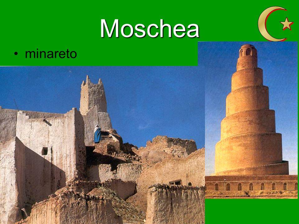 Z Moschea minareto