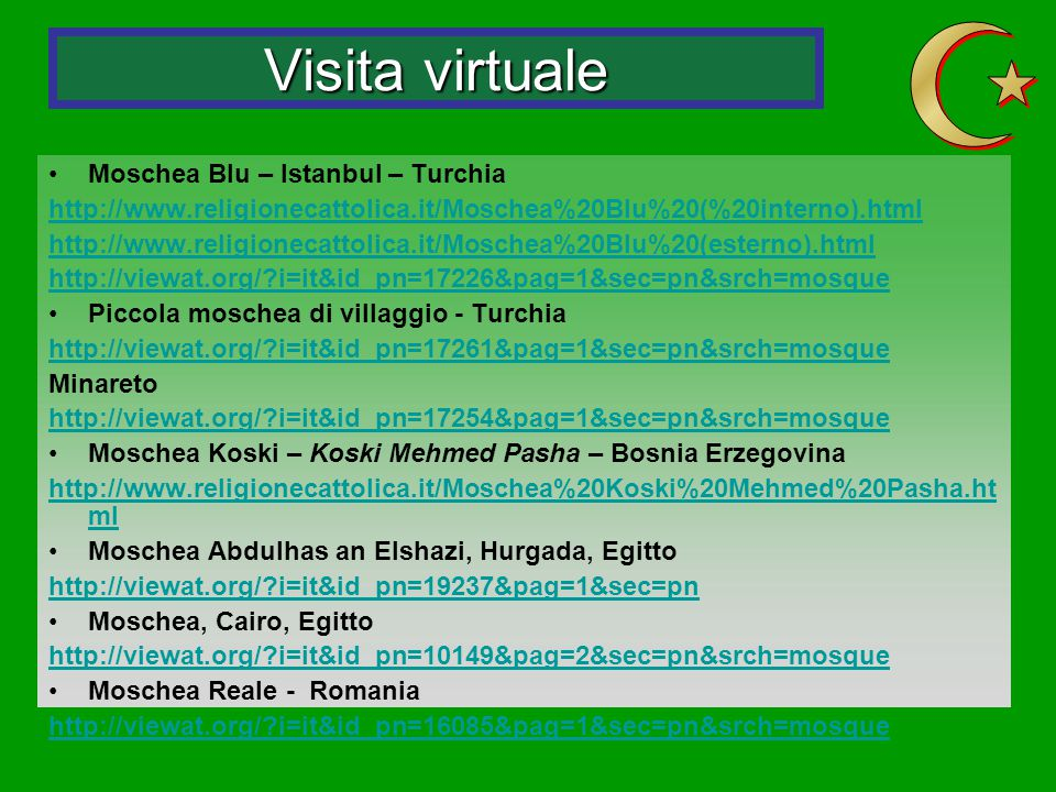 Visita virtuale Z Moschea Blu – Istanbul – Turchia