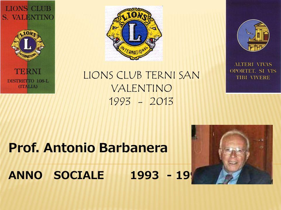 LIONS CLUB TERNI SAN VALENTINO