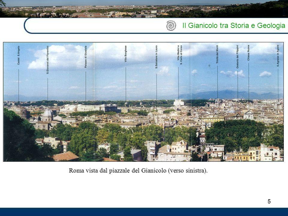 Roma vista dal piazzale del Gianicolo (verso sinistra).