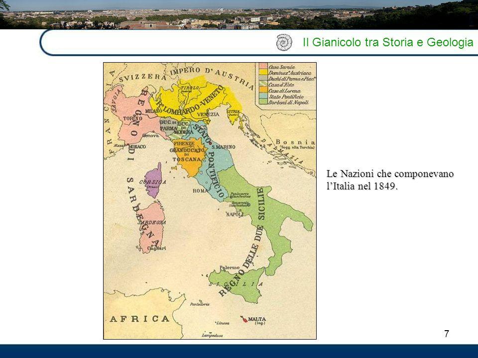 Il Gianicolo tra Storia e Geologia