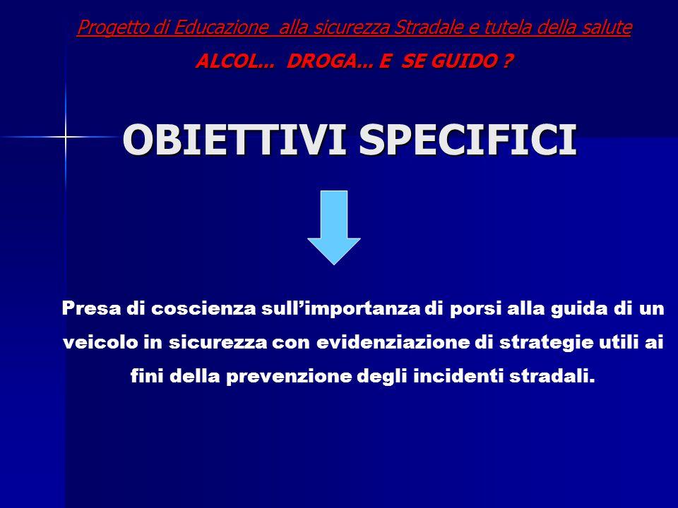 Progetto di Educazione alla sicurezza Stradale e tutela della salute