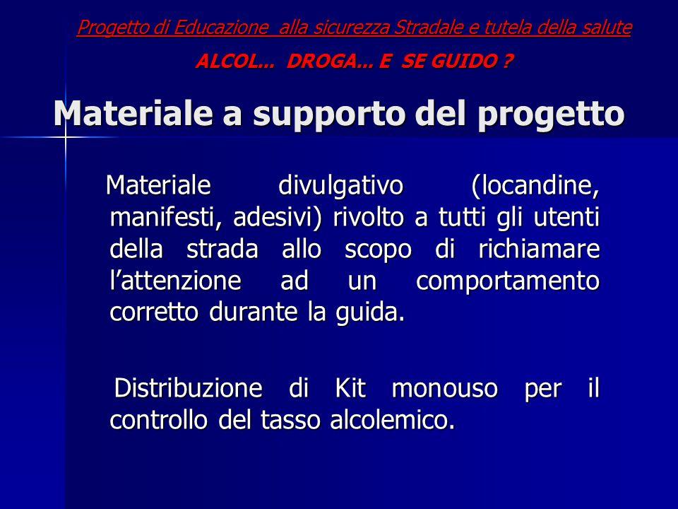 Materiale a supporto del progetto