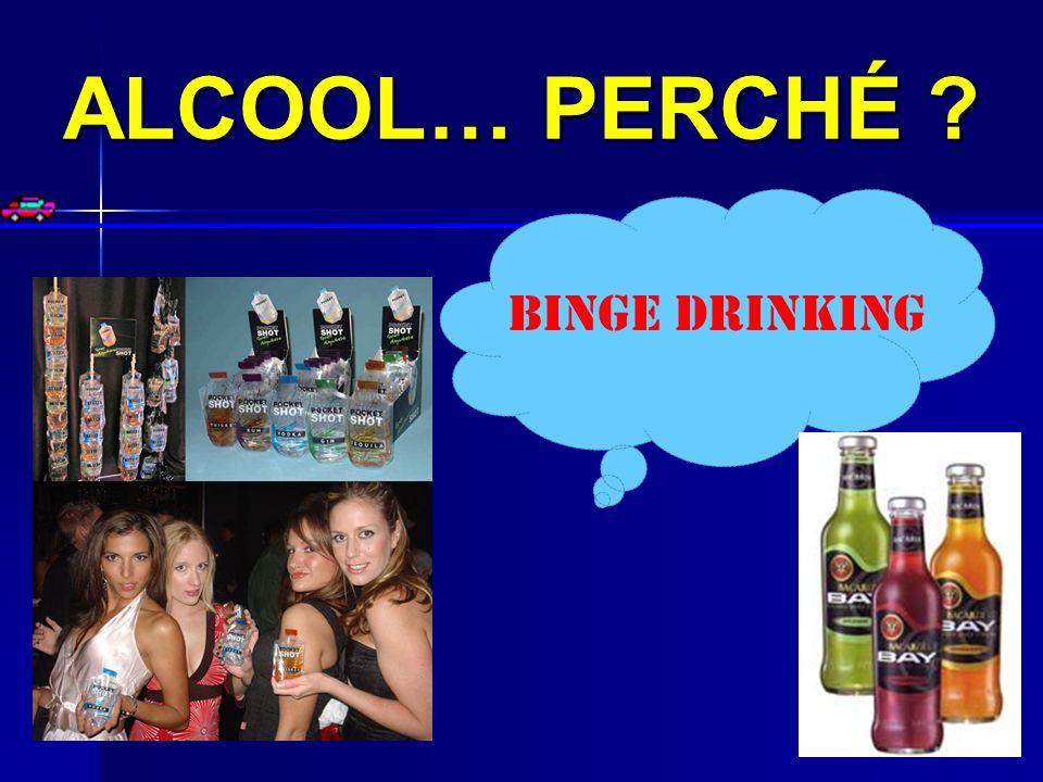 ALCOOL… PERCHÉ BINGE DRINKING