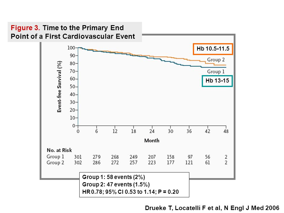Figure 3. Time to the Primary End Point of a First Cardiovascular Event