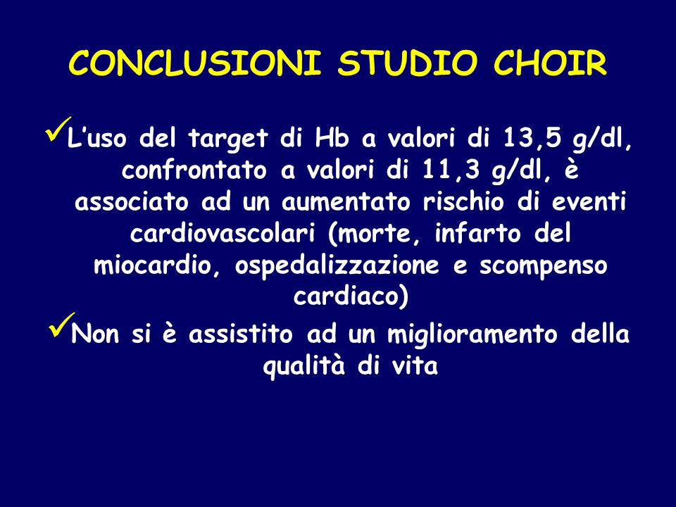 CONCLUSIONI STUDIO CHOIR