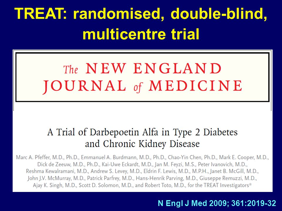 TREAT: randomised, double-blind, multicentre trial