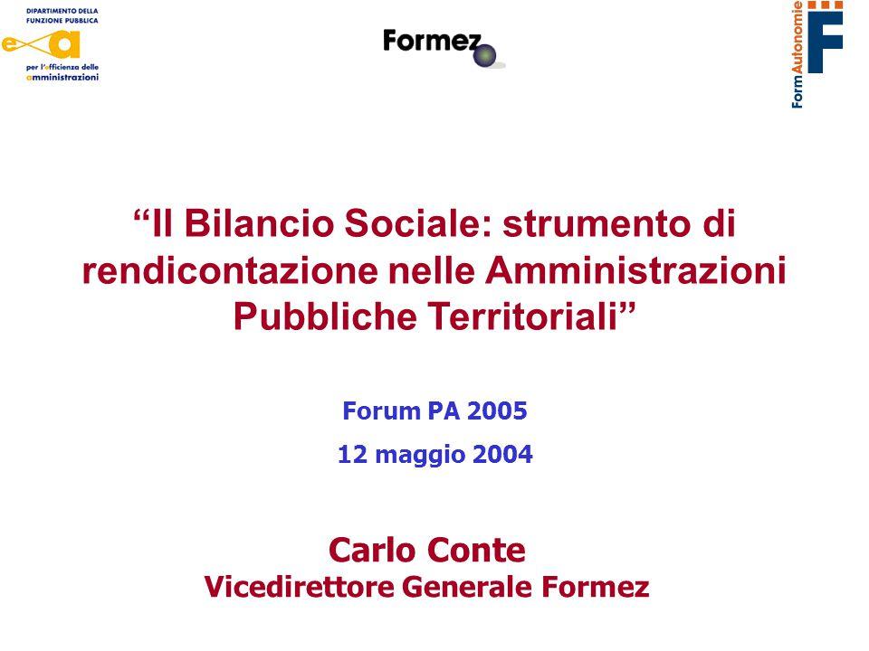 Vicedirettore Generale Formez