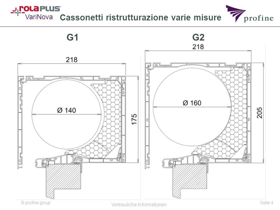 Cassonetti ristrutturazione varie misure