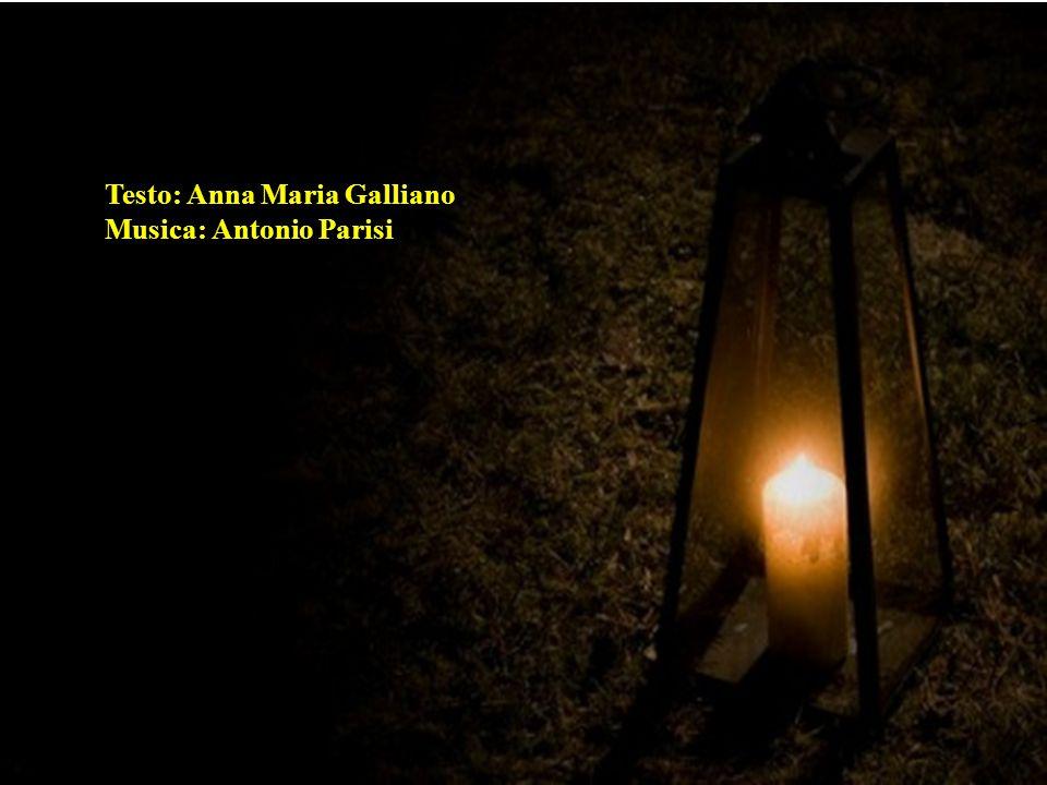 Testo: Anna Maria Galliano
