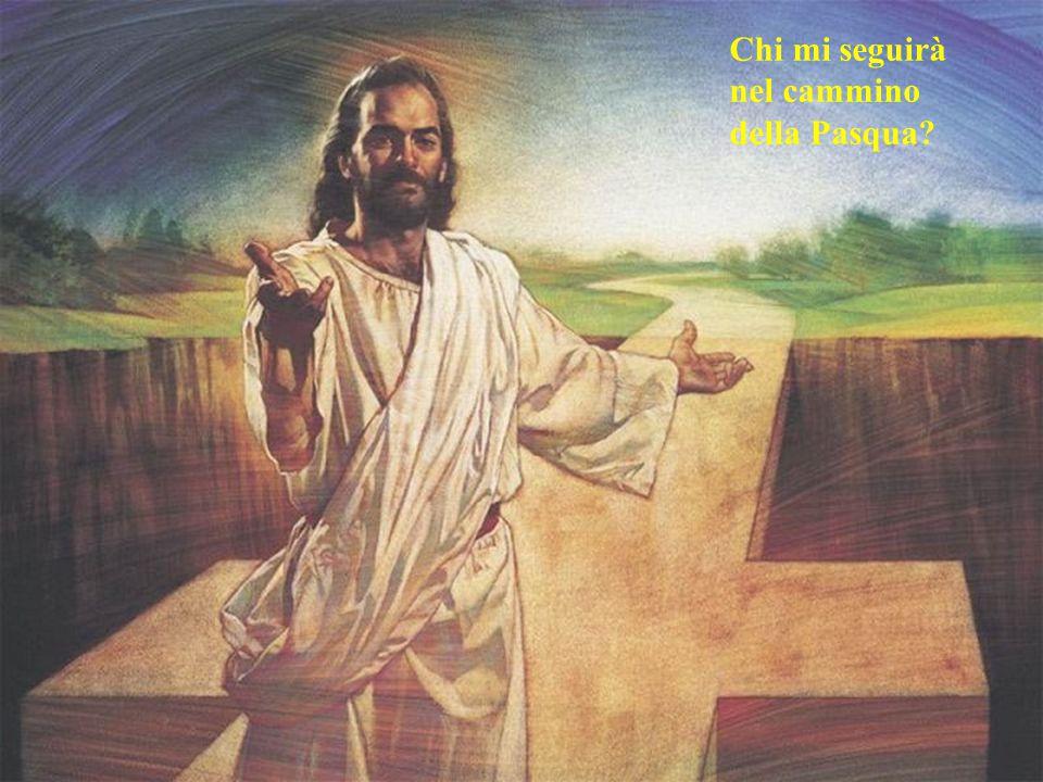 Chi mi seguirà nel cammino della Pasqua