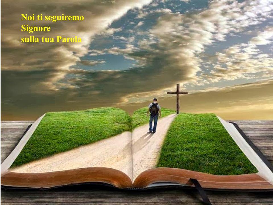 Noi ti seguiremo Signore sulla tua Parola