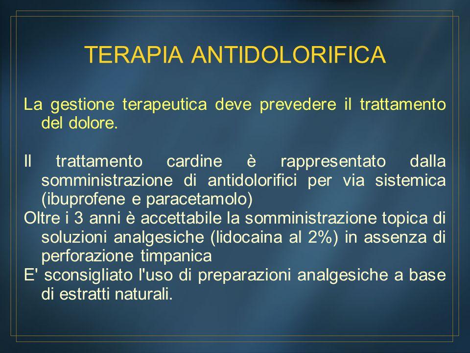 TERAPIA ANTIDOLORIFICA