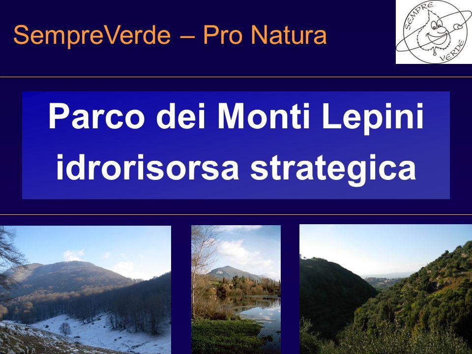 Parco dei Monti Lepini idrorisorsa strategica