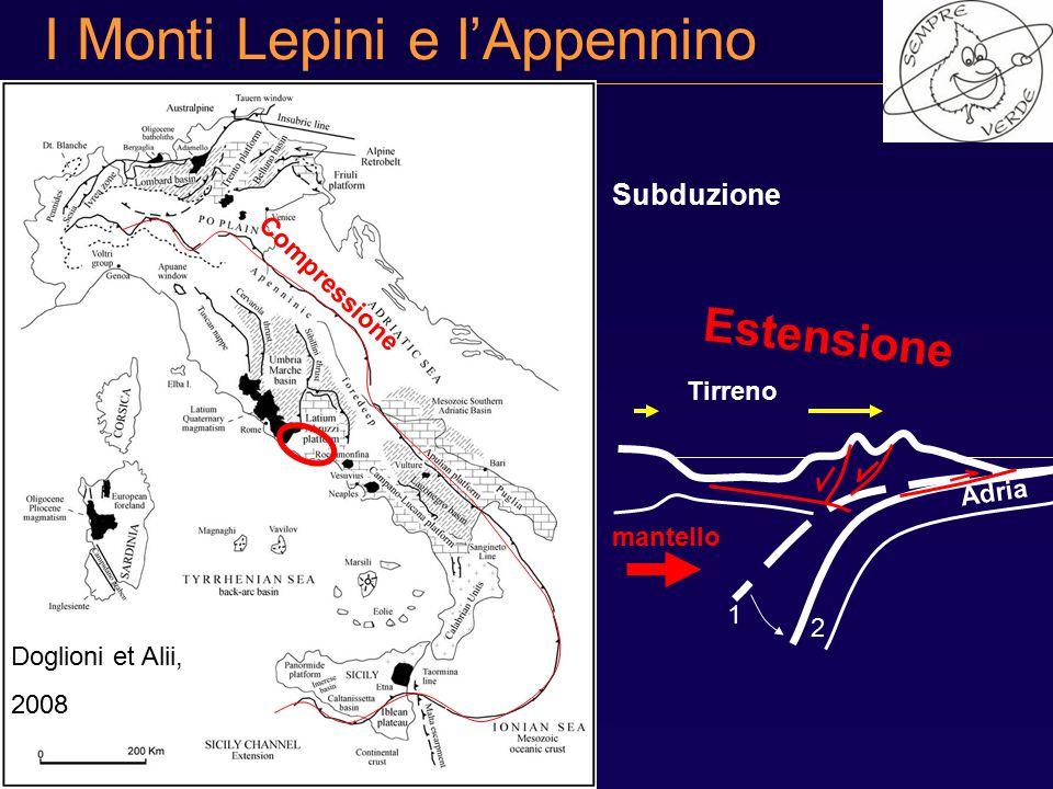 I Monti Lepini e l'Appennino