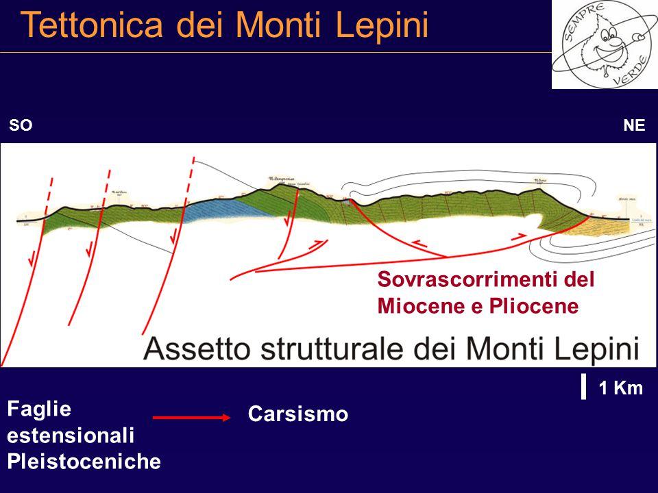 Tettonica dei Monti Lepini