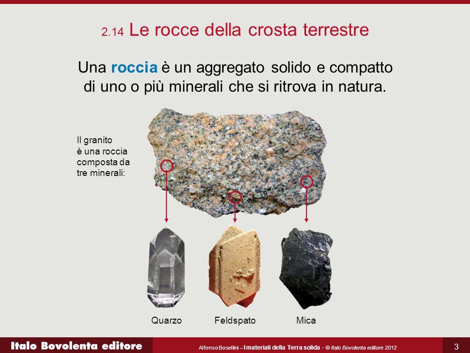 2.14 Le rocce della crosta terrestre