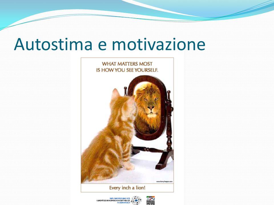 Autostima e motivazione