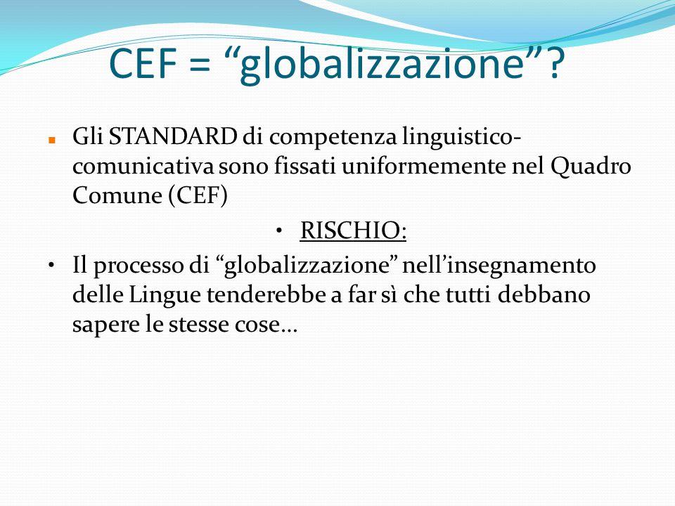 CEF = globalizzazione