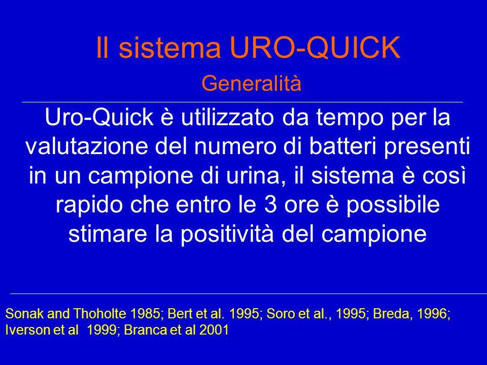 Il sistema URO-QUICK Generalità