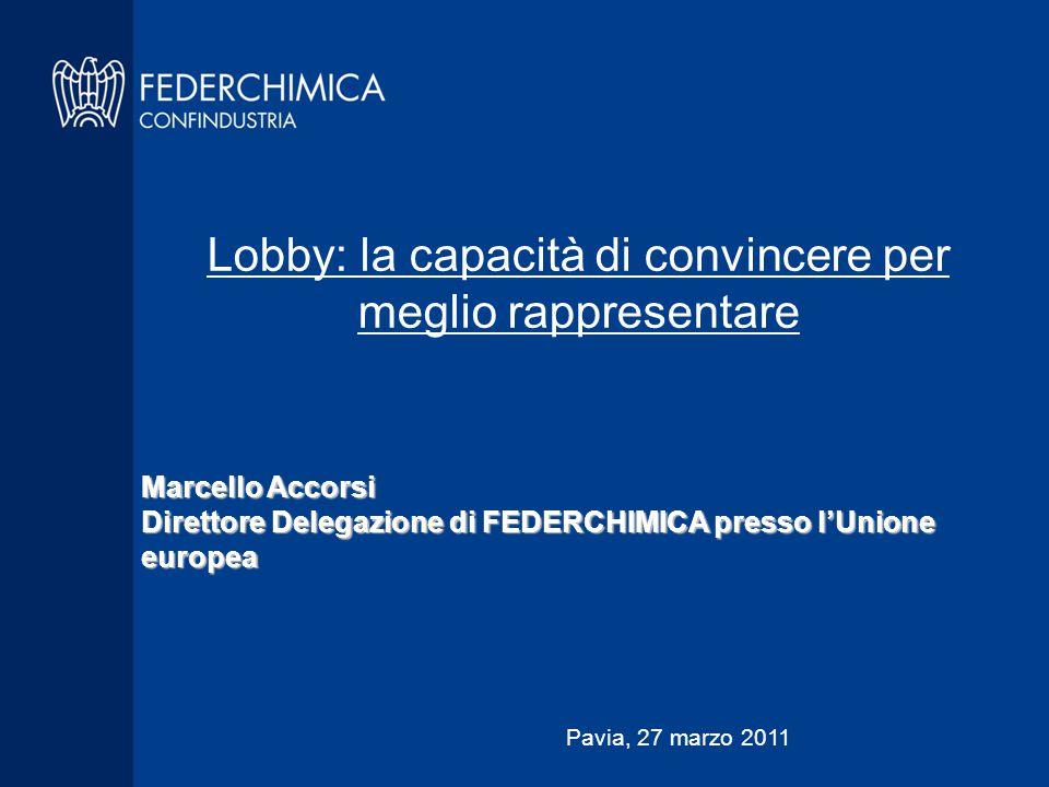 Lobby: la capacità di convincere per meglio rappresentare