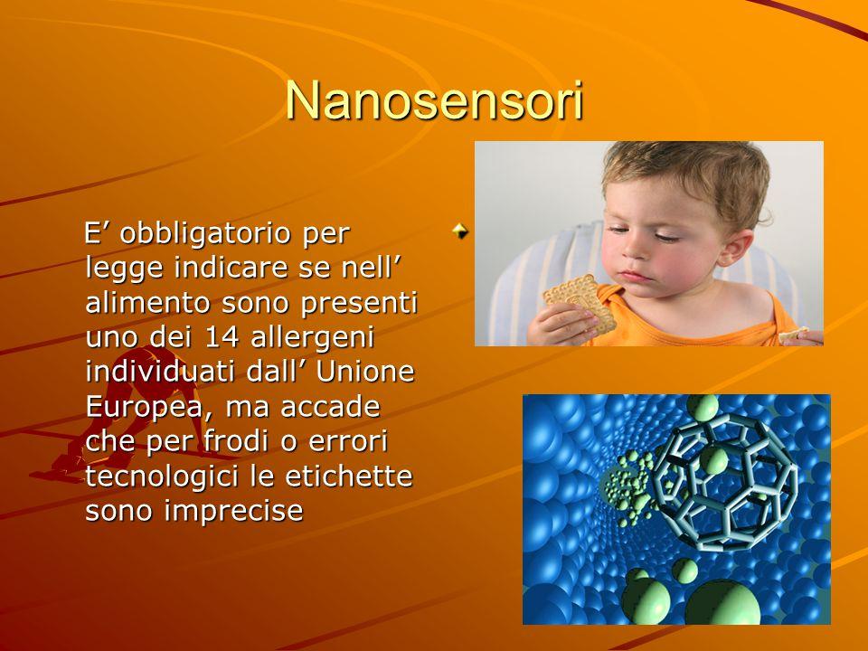Nanosensori Immagine formaggio svizzero